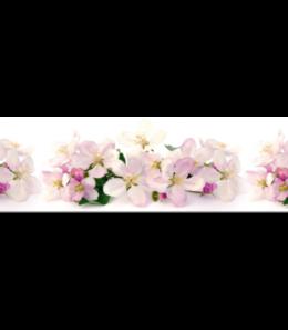 """Стеновые панели """"Яблоневые цветы"""" F-32"""