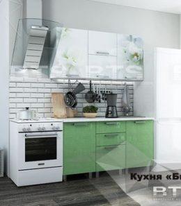 """Кухня """"Яблоко"""" 1,5 м."""