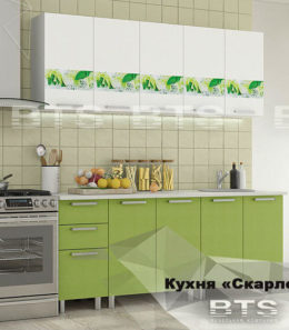 "Кухня ""Скарлетт"" 2 м. (со столешницей)"