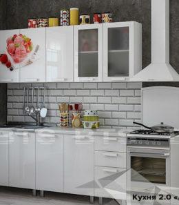 "Кухня ""Айс-крим"" 2 м. (со столешницей)"