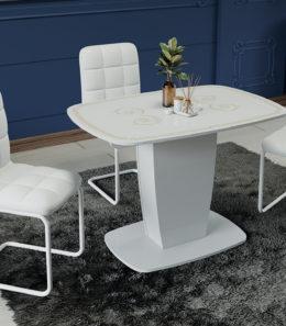 Стол раздвижной «Аризона» Тип 2 (серебро)