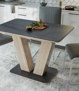 Стол раздвижной «Чинзано» Тип 1 (дуб сонома светлый)
