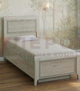 Кровать с ортопед. основанием  КР-1025 ( гикори джексон)