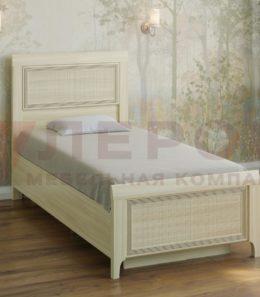 Кровать с ортопед. основанием  КР-1025 ( ясень асахи)