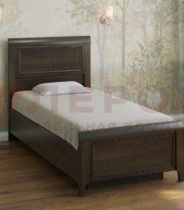 Кровать с ортопед. основанием  КР-1025 ( акация молдау)