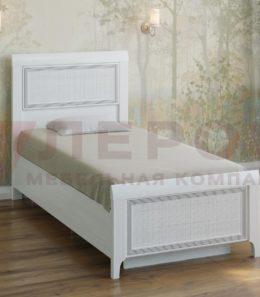 Кровать с ортопед. основанием КР-1025 (снежный ясень)