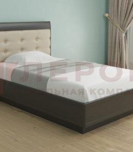 Кровать с ортопед. основанием и подъемным механизмом КР-1052 ( венге) 1,4 м.