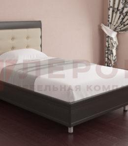 Кровать с ортопед. основанием КР-2051 ( венге) 1,2 м.