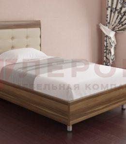 Кровать с ортопед. основанием КР-2051 ( слива валлис) 1,2 м.