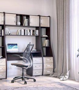 """Компьютерный стол """"Лотта 8""""+стеллаж"""