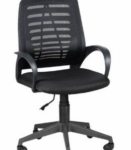 """Офисное кресло оператора """"Ирис"""" (черное)"""