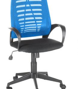 """Офисное кресло оператора """"Ирис"""" (синий)"""