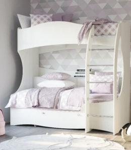 """Кровать двухъярусная  """"Прованс"""" НМ 011.74 М1"""
