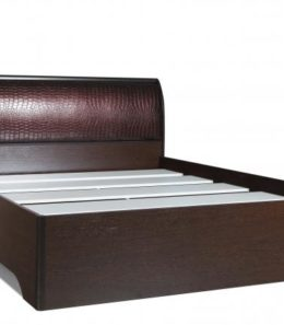 """Кровать """"Мона"""" 06.298 с настилом (венге) 1,4 м."""