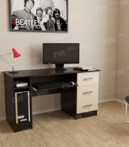 Письменно-компьютерный стол ПКС-4 (Венге)