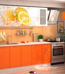 "Кухня  ""Апельсин"" 2 м."